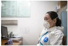 同為「吹哨人」的武漢中心醫院急診科醫生艾芬早前「被失蹤」。(網路圖片)