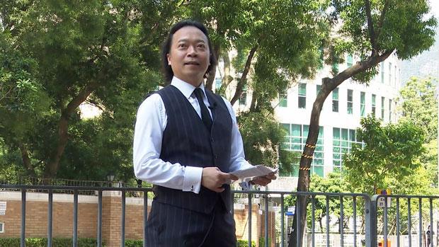 2019年区议会选举提名期已开始,多位政治「素人」拟走上从政之路,包括「逆权大状」刘伟聪。(本台记者摄)