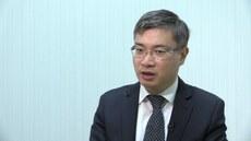 政治評論人桑普稱,2020年是香港生死存亡的關鍵一役。(張展豪 攝)