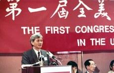 李怡在港執筆七十載,經歷香港時代變遷。(受訪者提供)