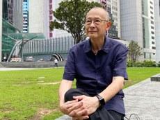 退休牧師袁天佑認為,港區國安法忽略公民的人權和自由,令宗教界感到不安。(李智智 攝)