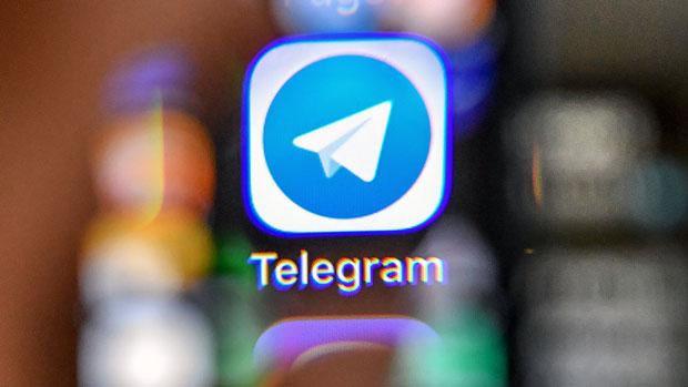 2018年4月17日,加密通讯软件Telegram因拒绝向俄罗斯当局提供用户的通讯内容,被法院颁令禁制。(法新社)
