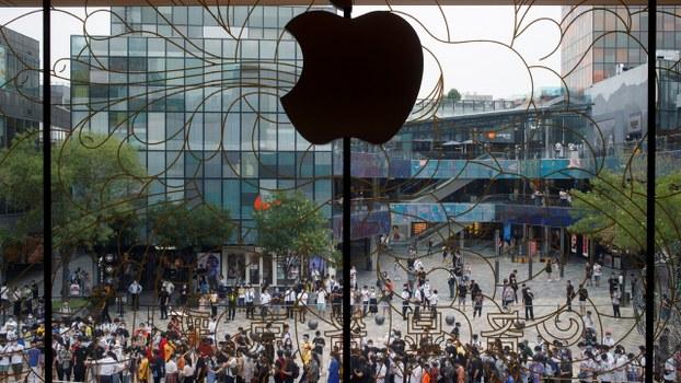 近日傳出蘋果促台灣供應商三成產能撤出中國。(路透社資料圖片)