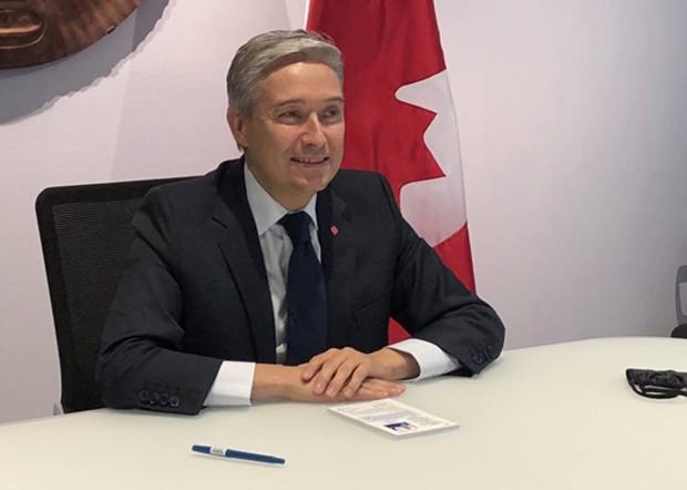 加拿大外長商鵬飛(Francois-Philippe Champagne)批評叢培武發言不當無法接受。表明加拿大支持人權及維護公民權益。(商鵬飛推特圖片 / 拍攝日期不詳)