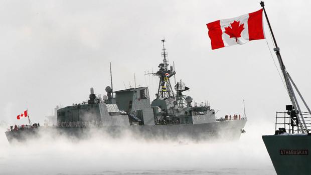 加拿大继6月后,在9月再派军舰通过台湾海峡。(路透社资料图片)