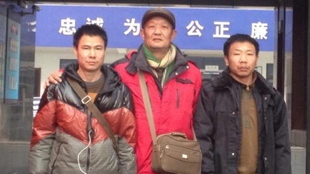 广东公民胡海波(左)到香港参加声援反修例的抗议后,返回内地被警方以「吸毒」罪名拘捕。(胡海波朋友提供 / 拍摄日期不详)
