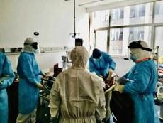 湖北省人民醫院再次傳出醫生被感染的消息。(湖北省人民醫院官網資料圖片 / 拍攝時間不詳)