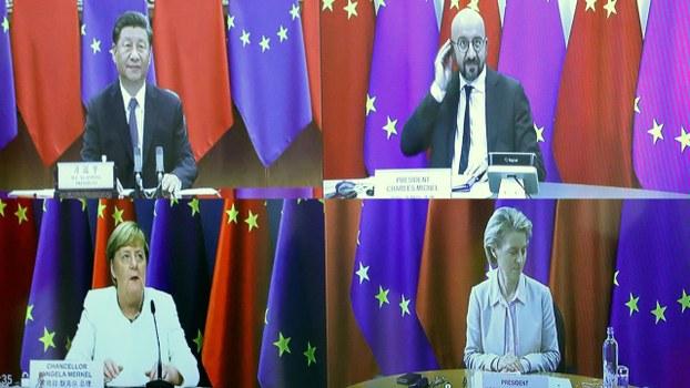 話說在上周二(14日)的中歐視像峰會前兩日,強國叫停了德意志豬肉入口。有分析認為強國此舉是警告德意志總理默克爾不可以在中歐視像峰會上提出強國的人權問題!(路透社資料圖片)