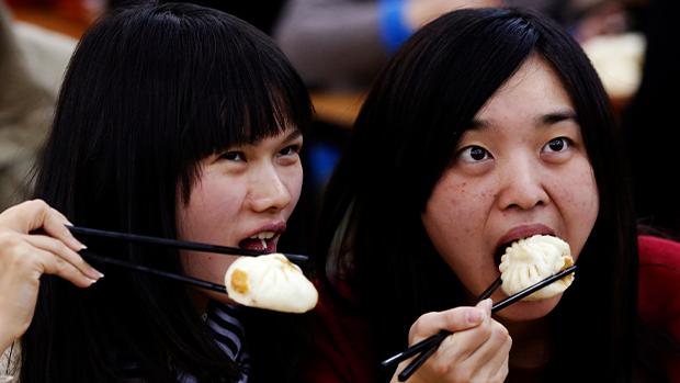 不少強國老百姓都愛吃慶豐包子。(路透社資料圖片)