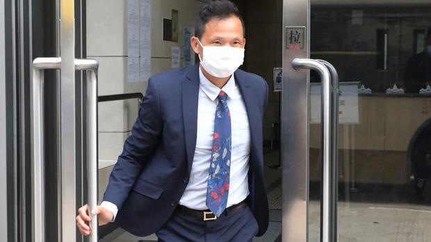 警署警長林華平周五(20日)出庭作供。(蘋果日報圖片)
