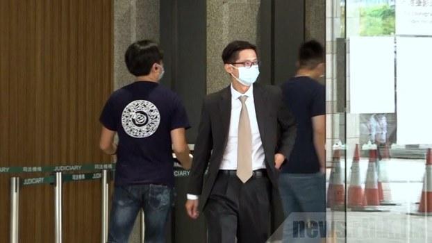 法庭傳召當日接報到場打撈遺體的水警陳國榮作供。(香港電台圖片)