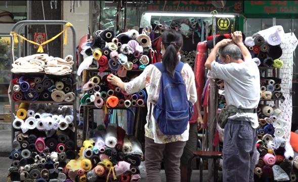 昔日的深水埗以香港紡織業「心臟」聞名。(鄧穎韜 攝)