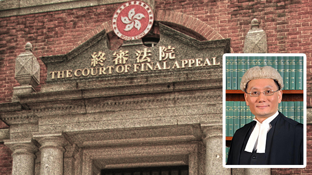 張舉能被任命為香港終審法院首席法官,接替明年退休的馬道立。(資料圖片)