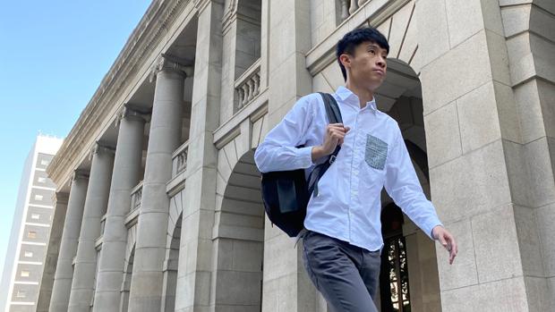 作為首批被DQ的民選香港立法會議員,梁頌恆認為今日立法會變一言堂證明中共紅線是飄忽不定。(劉少風 攝)