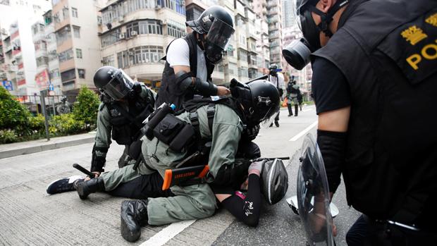 香港监警会押后发表报告,被批评是为了「政治考虑」。(路透社资料图片)
