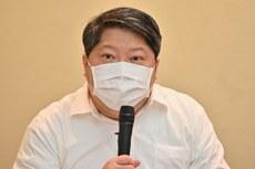 2020年10月20日,經濟民主連合智庫召集人賴中強:各國商務人士往來香港,可能因港版國安法失去自由。(鍾廣政 攝)
