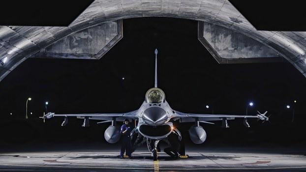 2020年9月22日,傳聞軍售包括安裝在F-16V戰機上的外部傳感器吊艙。(台灣國防部提供)