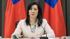 2020年10月19日,台灣外交部發言人歐江安:對中國駐斐濟外交人員,嚴重違反法治與文明規範的行為,予以強烈譴責。(鍾廣政 攝)