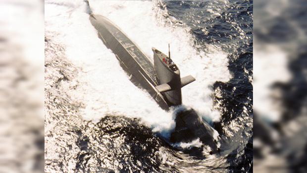 海龍軍艦 (SS-793)。(資料圖片)