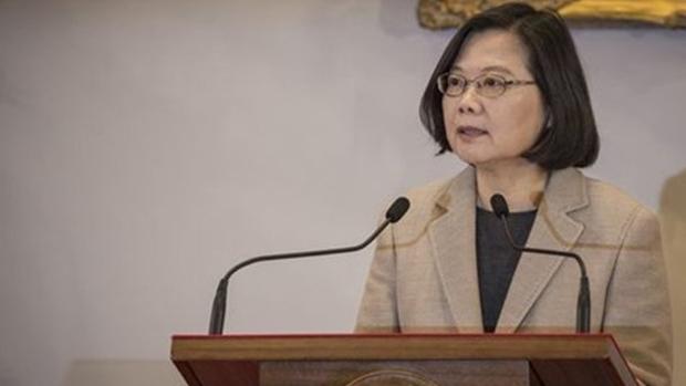 台灣總統府報案遭黑客入侵電腦,蔡英文會議紀錄外洩。(資料圖片)