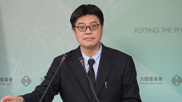 2020年1月16日,陆委会副主委邱垂正:对于出入境的管理,有既定的规范与相关的机制。(锺广政 摄)