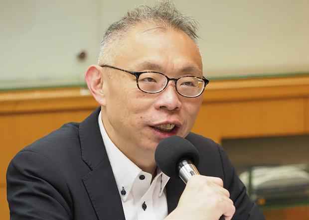 2020年1月15日,台湾师范大学教授范世平︰北京默默释放改善两岸关系信息,农历年后两岸发展可期待。(锺广政 摄)
