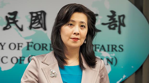 2020年8月4日,外交部發言人歐江安:台灣和索馬利蘭最快在八月完成互設辦事處。(鍾廣政攝)
