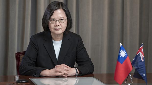 2020年8月27日,台灣總統蔡英文:提升自我防衛能力,增加國防預算,以降低中國軍事冒進的風險。(台灣總統府提供)