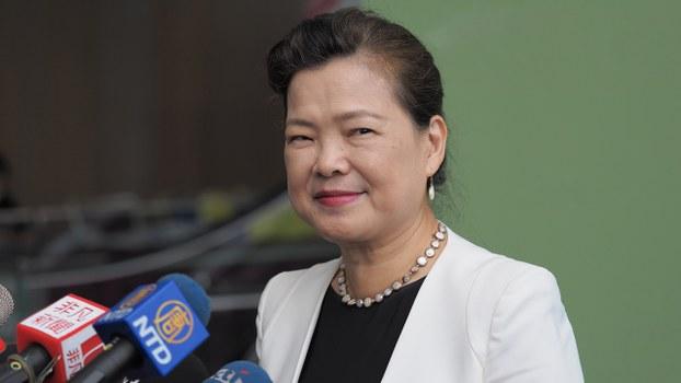 2020年9月16日,台灣經濟部長王美花:非常歡迎克拉奇帶團來訪問,代表台美之間又往前跨了一步。(鍾廣政 攝)