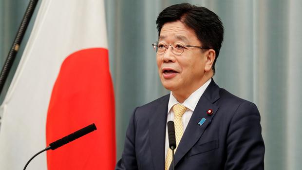 內閣官房長官加藤勝信對中國海警船頻近釣魚台表達不滿,並形容「情況極為嚴重」。(路透社資料圖片)