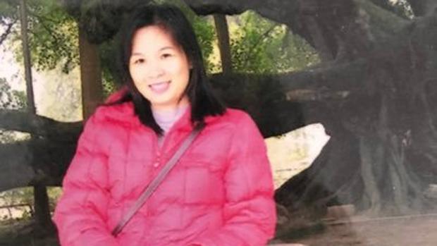 覃永沛妻子鄧曉雲表示,因為她在網上公開丈夫的情況,而遭當局打壓。(鄧曉雲提供 / 拍攝日期不詳)