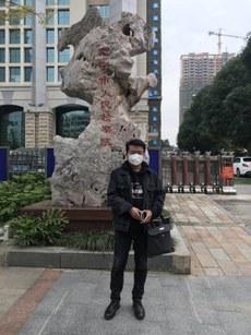 覃永沛的代表律師李貴生表示,希望盡快與其當事人會面相討案件。(鄧曉雲提供 / 拍攝日期不詳)