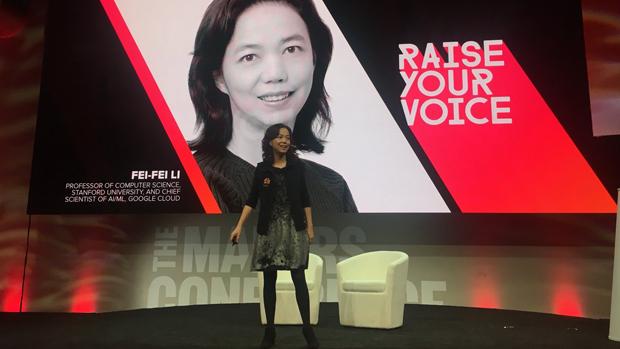 李飛飛被推特公司任命為董事,她與中共合作的背景引發網友擔憂推特「染紅」。(李飛飛推特圖片 / 拍攝日期不詳)