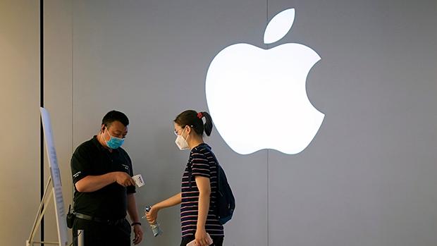 中國官媒《環球時報》今年5月曾引述消息表示,被列入中國大陸首批不可靠實體清單的企業,包括卷入孟晚舟被捕事件的匯控和聯邦快遞,甚至包括蘋果。(路透社資料圖片)