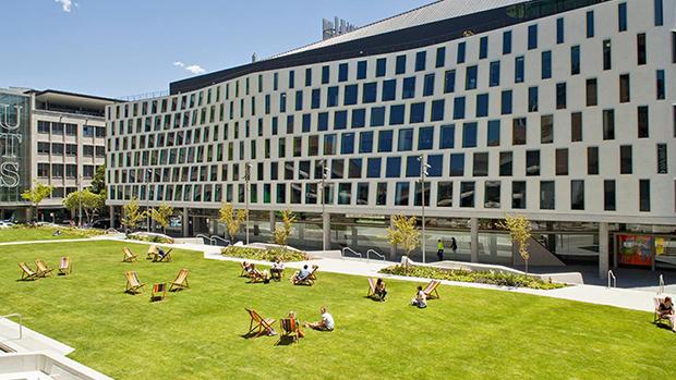 悉尼科技大学校园。(悉尼科技大学官网截图)
