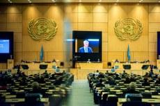 國際人權活動人士和中國異見人士批聯合國的機制被中國、俄羅斯等國家利用,並批評中國在聯合國上收買一些亞非拉國家,這些人權劣跡斑斑的國家互相庇護,聯合國已淪為「惡人俱樂部」。 (聯合國官方推特)