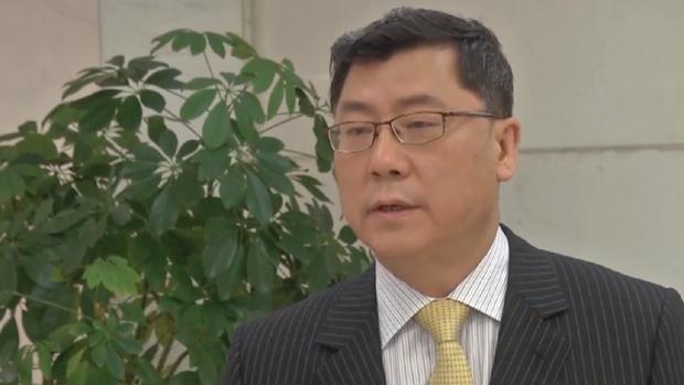 2019年8月11日,中国商务部条法司司长王贺军警告,若经贸摩擦升级,中方会采取反制措施。(网上视频截图)