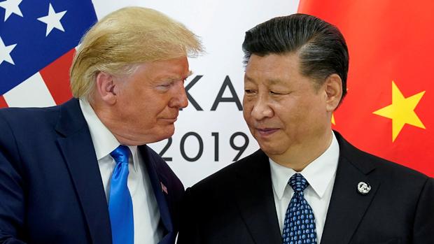 圖為中國國家主席習近平和美國總統特朗普。(路透社資料圖片)