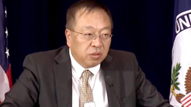 美國國務卿蓬佩奧的首席中國政策規劃顧問余茂春12日在接受自由亞洲電台中文部專訪,直指香港的一國兩制是名存實亡。(資料圖片)