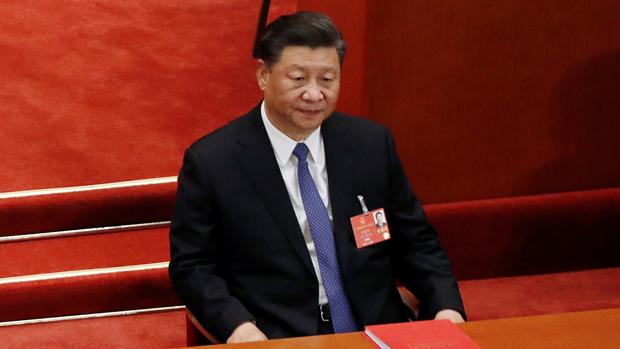 習近平辯稱「絕不答應割裂中共及中國人民」。(路透社資料圖片)